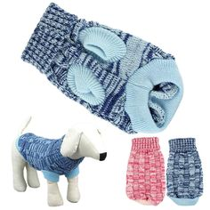 DEESEE(TM) Dog Clothes Pet Winter Woolen Sweater Knitwear Puppy Clothing Warm Hemp Flowers (XXL, Blue) ☛:Note:Chinese size are 1 or 2 sizes smaller than European and American, We Suggest buy 1-2 Read  more http://dogpoundspot.com/dog-luxury-store-1334/  Visit http://dogpoundspot.com for more dog review products