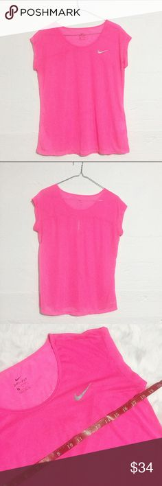 Nike Pink Dri Fit Athletic Top Nike dri fit athletic top. Open to offers. No trades. Nike Tops