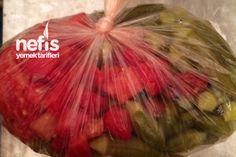 Kışlık Bamya Winter Food, Asparagus, Feel Good, Watermelon, Homemade, Canning, Vegetables, Fruit, Foods