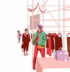 Réalité augmentée, boutique-maison : le luxe invente le...