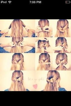 This Is A Very Fast And Cute Way To Do Your Hair
