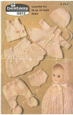 55be44f454a aurora reina · Muñecas · Ladyship 4436 ladies jumper vintage knitting  pattern