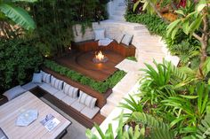 Bondi - A Tropical Hideaway - Growing Rooms - Landscapes For Outdoor Living