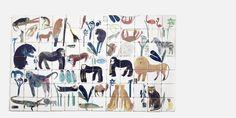 Animal Tile Mural| The New Craftsmen | Luxury British Craft I The New Craftsmen