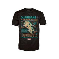 T-shirt POP Les Gardiens de la Galaxie Groot