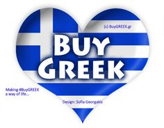 Click on the link to join the #BuyGREEK movement! www.facebook.com/buyGREEK BuyGREEK  means supporting #Greek products and services & refers to all things available in Greece-from physical products of the land or its industries to Greece's rich, unique cultural heritage, & everything in between, on land or sea... includes supporting industries that have a positive impact on the economy and sustain jobs in Greece & Greek-owned business and services around the world. The only way…