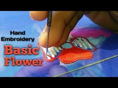 Easy Diy Flowers Ideas | Hand Embroidery Designs | DIY Stitching - 08 - YouTube