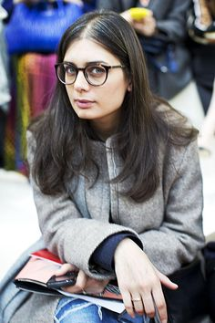 Fashion Show, Paris | Faces by The Sartorialist: style inspired by eyeglasses