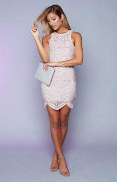 Venus Dress White