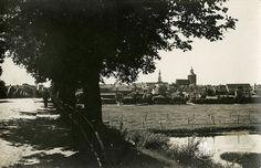 Велау. Панорама города. Фото ок. 1930 г.