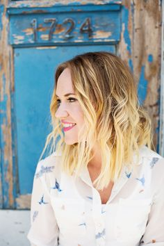 How to Create Beachy Waves (With a Flat Iron) - A Beautiful Mess