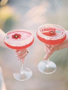 Red cocktails!