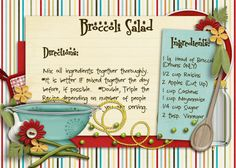 great recipe card idea to do for a recipe box