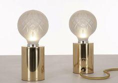 Diseños nuevos: lámpara de mesa Lee Broom, colección de #DiezCompany. #compradiseño en GMD.