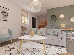 Room Design Bedroom, Home Room Design, Home Interior Design, Home Living Room, Living Room Decor, Sofa Skandinavisch, Design Online Shop, Bedroom Designs For Couples, Room Colors