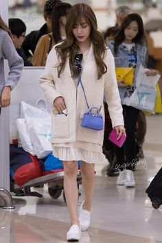 SNSD Tiffany @ Airport