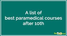 12 Best Paramedical Courses images in 2016   Learning
