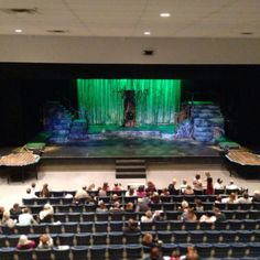 Once on this island  Scenic design by Cody Rutledge