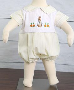 Bunny Romper for Baby Boy Easter Outfit, Peter Rabbit Outfit for Boy, Boys Easter Outfit, Boy Easter Outfit 293747
