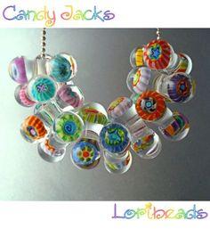 Candy Jacks Murrini Bead Tutorial - Lampwork Etc.