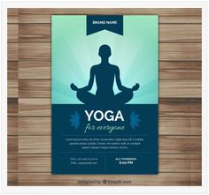 Explore the excellent collection of free yoga flyer templates. Find the perfect yoga flyer, customize in your own way & promote your personal yoga center or business related yoga institute. Corporate Design, Flyer Design, Template Flyer, Event Flyer Templates, Yoga Vector, Vector Free, Adobe Illustrator, Leaflet Layout, Yoga Flyer