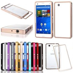 Luxury Aluminum Metal Bumper Frame Cover Case For Sony Xperia Z3 Compact/Z2 New #UnbrandedGeneric