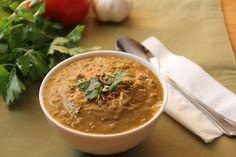 figure-friendly lentil soup