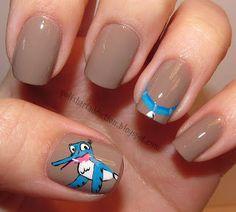 Pretty As A Princess: Disney Nail Art Ideas