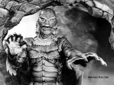 Creature from the Black Lagoon- I do have to admit I love this movie!