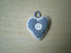This is a decoration for my Advent Garland. It is edged with a simple crochet trim.