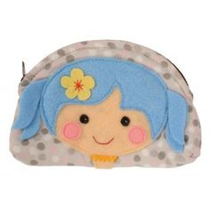 The Miss Penny Change Purse, perfect for pocket money, a hair clip and maybe a tiny treat. AU $11.95 http://www.summerlane.com.au/wallets-purses/1463-tiger-tribe-miss-penny-purse-blue.html