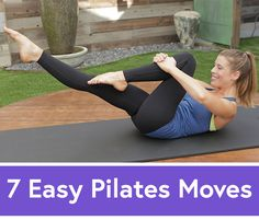 7 Easy Pilates Moves for a Beginner Core Workout