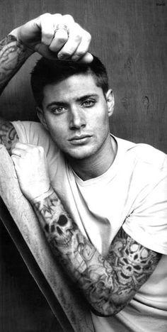 Jensen Ackles tattooed by BabeImYours on deviantART