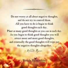 """""""Plant good thoughts"""" by Various Authors"""