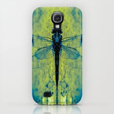 Suki iPhone & iPod Case by Nuam | Society6   #case #iPhone #PhoneCase #CasePrint #GreenCase #Insect  #InsectPrint - Cool Dragon Fly  Print For Samsung Galaxy #S4 Phone Case