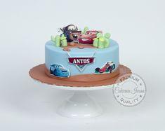 Mcqueen Cake, Zig Zag, Birthday Cake, Food, Food Cakes, Birthday Cakes, Essen, Meals, Yemek