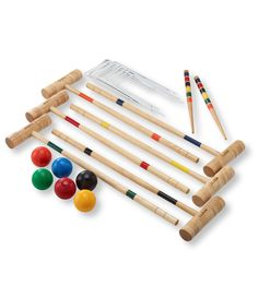 Maine Coast Croquet Set