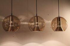 1stdibs | 3 big Raak globe lamps Holland 1960's