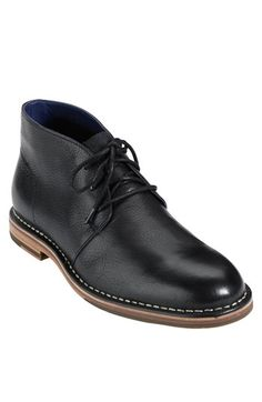 Cole Haan 'Glenn' Chukka Boot (Save Now through available at Me Too Shoes, Men's Shoes, Shoe Boots, Dress Shoes, Women's Boots, Mens Leather Chukka Boots, Leather Shoes, Moda Fashion, Fashion Shoes