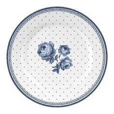 Porcelánový talíř dezertní Vintage Indigo II. 19 cm