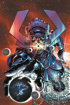 Hunger #1 - Galactus by Neal Adams *