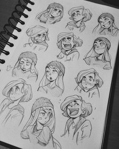 5 150 Likes 16 Kommentare gabi tozati Drawing Face Expressions, Cartoon Expression, Anime Faces Expressions, Character Design Cartoon, Character Design References, Character Drawing, Character Sketches, Animation Character, Character Illustration