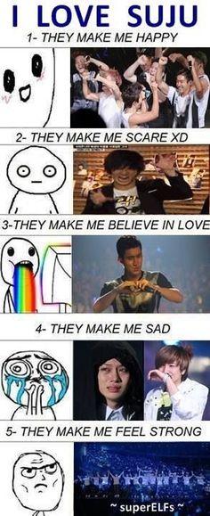 I love Super Junior