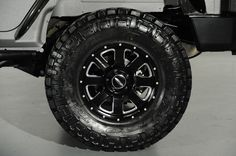 2014 Jeep Wrangler Unlimited Lifted 4x4: Custom Wheel and Tire