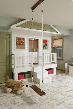 Unique Kid's Room Playroom design by #OlamarInteriors