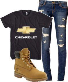 Like the shirt....don't like skinny jeans. and make 'em cowboy boots ;)