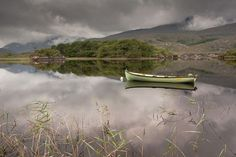 Cloudy Reflection Photo by Anthony Byrne -- National Geographic Your Shot