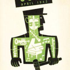 Coda   Jim Flora Em Home, Jazz Poster, Columbia Records, Art Director, Booklet, Flora, Fancy, Let It Be, Interview