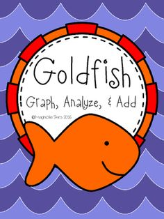 This Goldfish Graphing Printable contains two printable worksheets for you to use in your classroom.*Goldfish Scoop & Graph Printable - Students will graph the red, orange, yellow, & green goldfish they find in their individual bag.*Analyze & Add Printable - Students will determine the most, least, order from least to greatest, & add goldfish groups.I hope you enjoy this product.