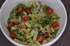 Luie Pasta-Pesto Salade - Brenda Kookt!